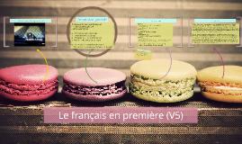 Le français en première (V5)