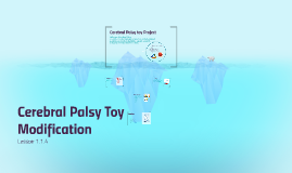 Cerebral Palsy Toy Modification