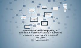 Положение о защите информации в платежной системе