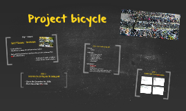 Project bicycle