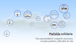 Mafalda filosofa y solidaria