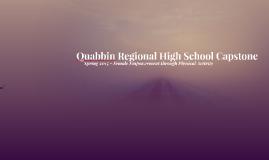 Quabbin Regional High School Capstone