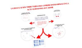 LA REGULACIÓN TRIBUTARIA DEL COMERCIO INFORMAL EN LA ACTUALI