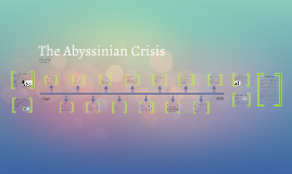 Effects of the Abyssinian Crisis