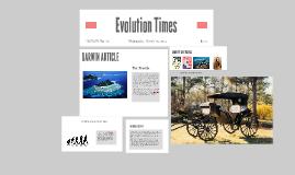 Evolution Times