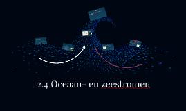 2.3 Oceaan- en zeestromen