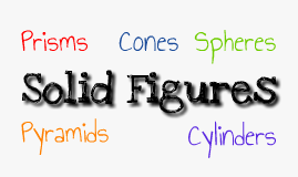 Solid Figures: Surface Area and Volume