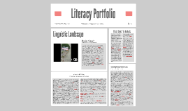 Copy of Literacy Portfolio