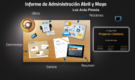 Informe de Administración Abril