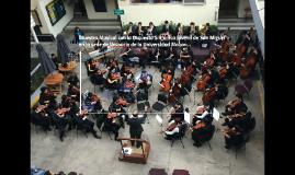 Muestra Musical con la Orquesta Sinfónica Juvenil de San Mig