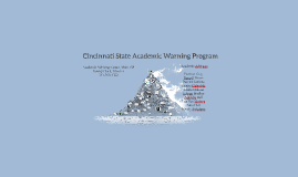 Cincinnati State Academic Warning