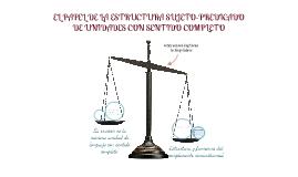 Copy of 2° BIM 3 P8  PAPEL DE LA ESTRUCTURA SUJETO-PREDICADO EN LA DELIMITACIÓN DE UNIDADES CON SENTIDO COMPLETO