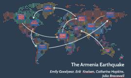 The Armenia Earthquake
