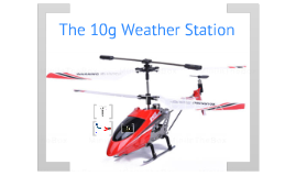 10g Weather Station