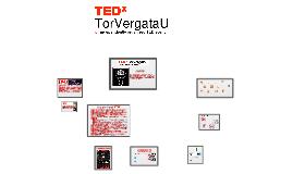 TEDxTorVergataU - conferenza stampa di presentazione