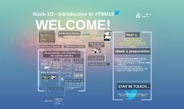 Week 1 - Introduction to #TBM16