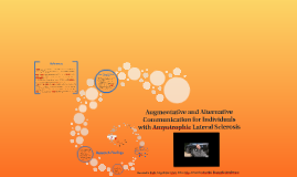 Augmentative and Alternative Communication for Individuals w