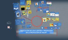 Educación de clientes y promoción de la proposición de valor Cap6