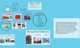 Le Maroc!