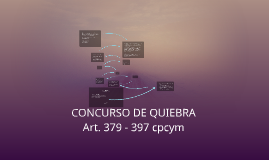 CONCURSO DE QUIEBRA