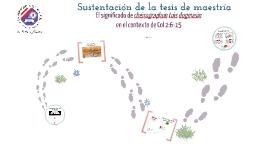 Sutentación de maestría - Jesús Hanco Torres