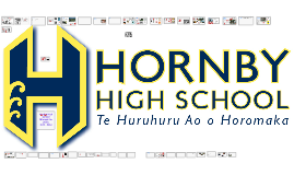 Hornby High School through the years 1975-2016