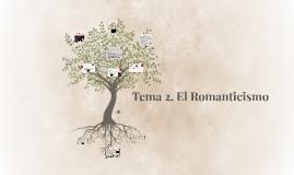 Tema 1. El romanticismo. La poesía romántica