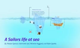A Sailor's life at sea