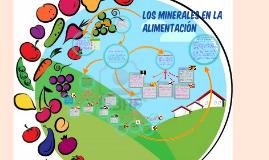 Copy of LOS MINERALES EN LA ALIMENTACIÓN