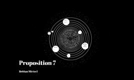 Proposition 7