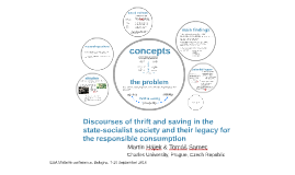Discourses of thrift and saving in the state-socialist socie
