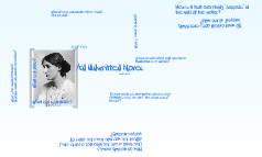 """Virginia Woolf's """"An Unwritten Novel"""""""
