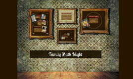 Copy of Family Math Night