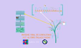 DIAGNÓSTICO Y CONSULTORÍA I.E ALFONSO PALACIO RUDAS