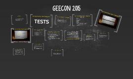 GEECON 2015