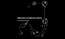 FERNANDO COTORRUELO GARCÍA