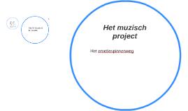 Het muzisch project