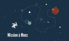 Mission à Mons