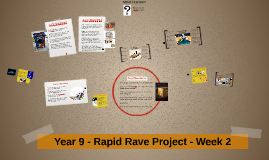 Year 9 - Rapid Rave Project - Week 2