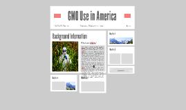 GMO Use in America