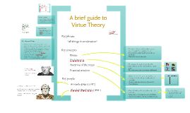 A Brief Guide to Virtue Theory