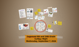 Sagemont 9th and 10th Grade College Night