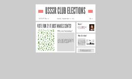 USSSR CLUB ELECTIONS
