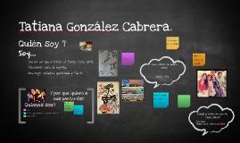 Presentación Tatiana Gonzalez C.