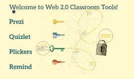 Welcome to Web 2.0 Classroom Tools!