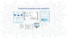 Traducción de proyectos de resolución