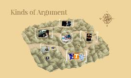 Kinds of Argument