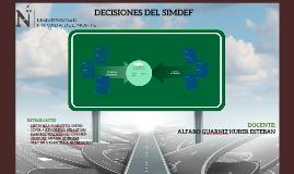 FIRMA 2. DECISIONES DEL SIMDEF