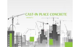 Copy of Cast-In Place Concrete