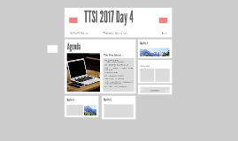 Copy of Copy of TTSI 2016 Day 2